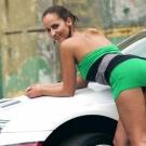 ქალი და მანქანა ჩეხეთში
