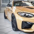 ოქროსფერი BMW M2 630 ცხენით!