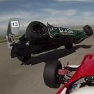 სასტიკი ავარია რუსთავის ავტოდრომზე: მევლუდ მელაძე სასწაულით გადარჩა! (+ VIDEO)