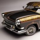 შედევრი ძველი ვოლგისგან - საბჭოური მანქანა ამერიკულ სტილში