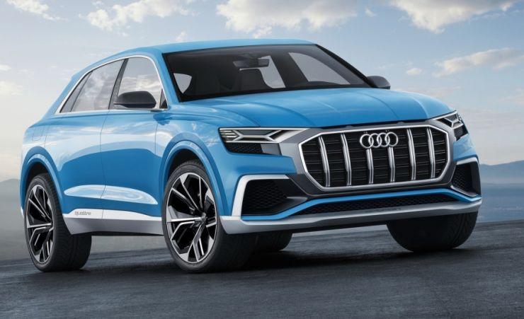 აუდიმ Q8 წარმოადგინა - ყველაფერი მომავალი SUV-კუპეს შესახებ