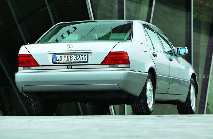 საუკეთესო, ან არაფერი? Mercedes S-კლასი (W 140)