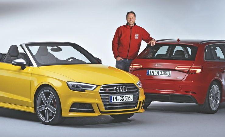 Audi A3 ახალი ბრწყინვალებით