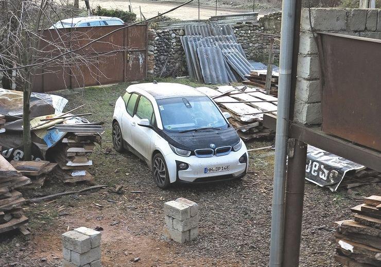 BMW-ს ელექტრომობილით კახეთში