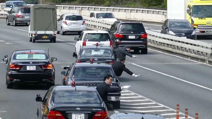 სამაგალითო ხალხი: როგორ გადაადგილდება სამთავრობო კორტეჟი იაპონიაში