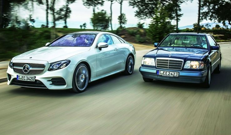 ახალი Mercedes E-კლასი კუპე - შეხვედრა მრავლისმნახველ ბაბუასთან