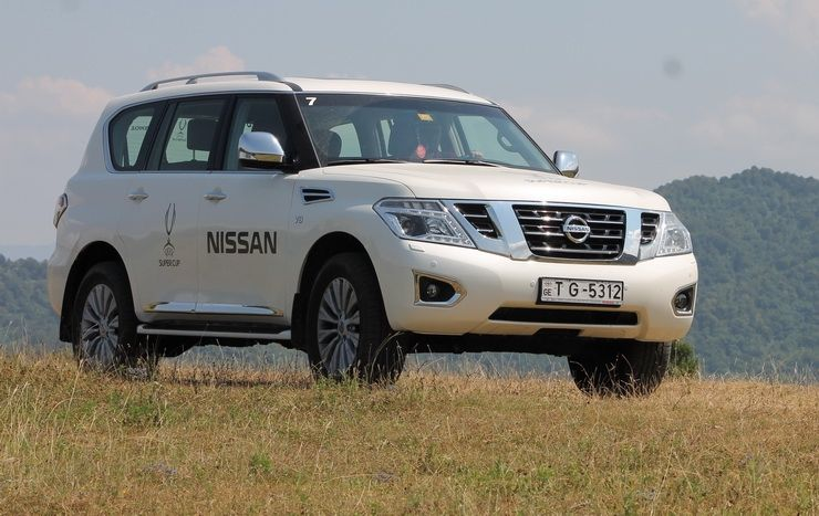 Nissan Patrol: სეირი ელვანის სერებზე