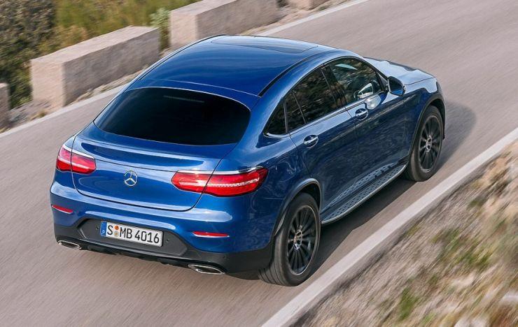 მერსედესის ახალი SUV-კუპე: GLC Coupe