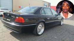 იყიდება BMW, რომელშიც 2PAC მოკლეს...