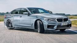 ახალი BMW M5-ის პირველი ტესტი - დრიფტი 608 ცხენის ძალით